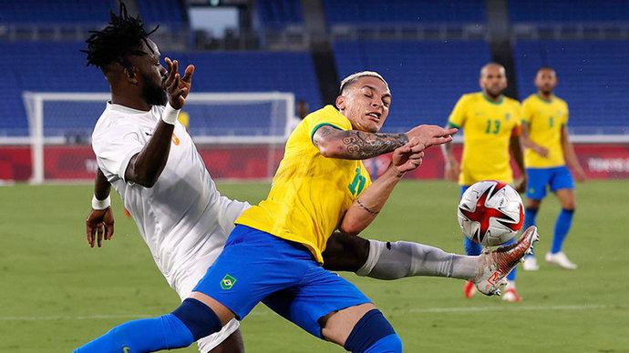 Малком не помог сборной Бразилии обыграть Кот-дИвуар на ОИ