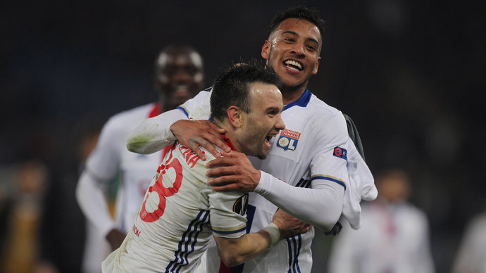 Чемпионат Франции. Анже - Лион (видео)