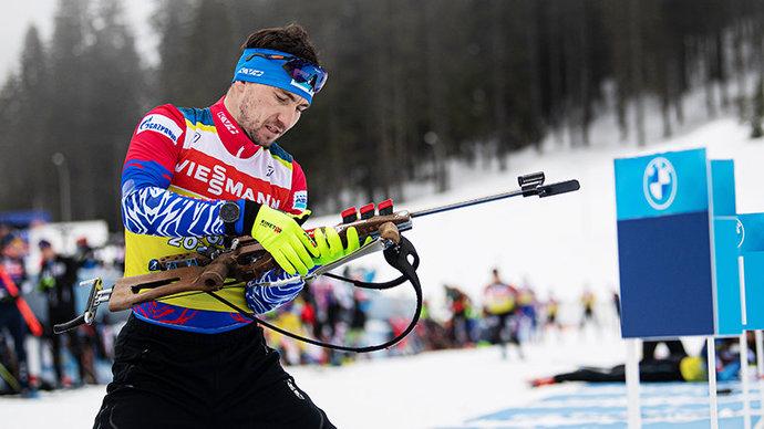 Российским биатлонистам запрещено размещать флаг страны в соцсетях, если публикация имеет отношение к ЧМ-2021