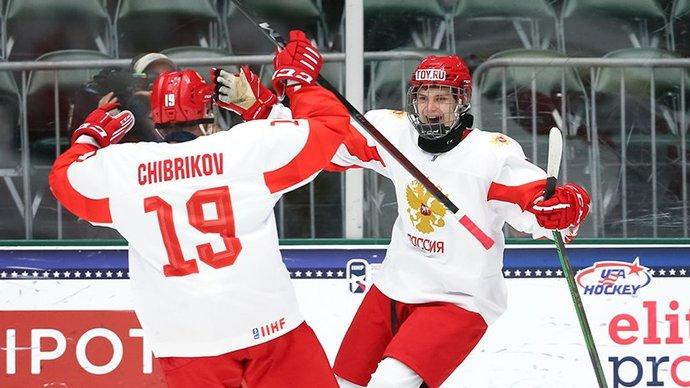 Никита Чибриков  в эфире Матч ТВ: Возможно, эмоции переполнили нас и привели к маленьким ошибкам в финале юниорского чемпионата мира