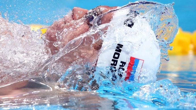 Морозов выиграл две медали на этапе Международной лиги плавания в Венгрии