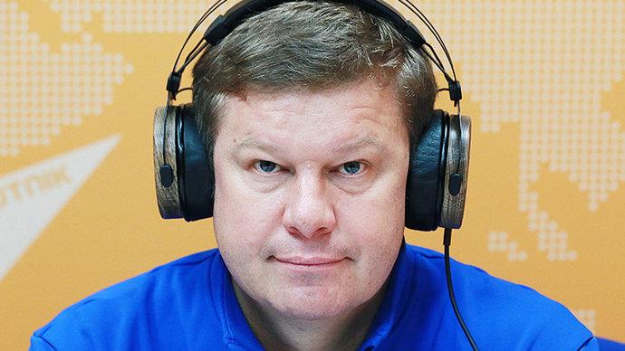 Дмитрий Губерниев  биатлонистам сборной России: Ребята, мы уже и так все проиграли, будьте свободными