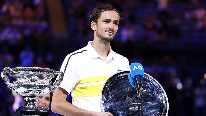 Даниил Медведев: «Не лучший день для меня. Но надеюсь, что скоро выиграю турнир «Большого шлема»