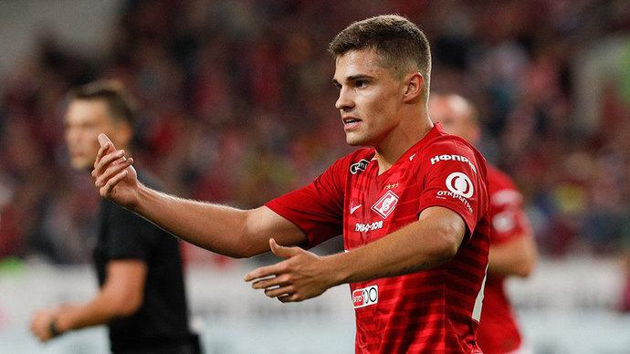 Зобнин и Джикия вернулись в «Спартак» после игр за сборную