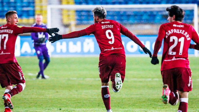 Рубин штампует самые красивые голы Тинькофф РПЛ. В 25-м туре лучшим стал мяч Дарко Йевтича!