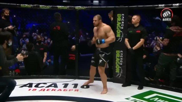Как Исмаилов подбил Штыркову глаз (видео)