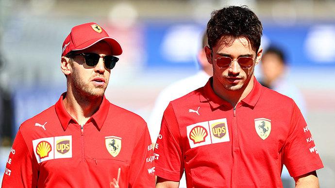 Руководитель «Феррари»: «В последних гонках Феттель и Леклер свободно соревновались, то же будет и в следующем сезоне»