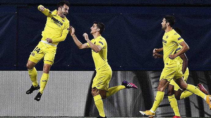 Вильярреал победил Арсенал в первом матче полуфинала Лиги Европы