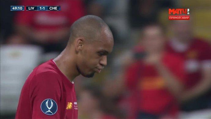 Ливерпуль - Челси. 1:1. Садио Мане (видео)