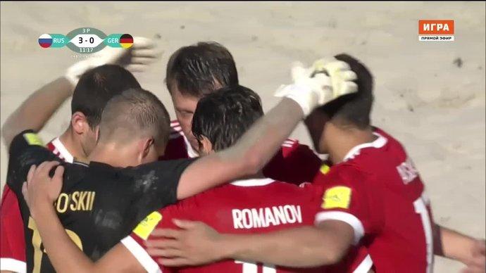 Россия - Германия - 3:2. Голы (видео)