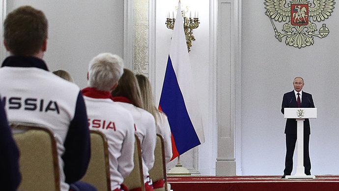 Путин наградил почетного президента МОК Смирнова орденом За заслуги перед Отечеством I степени