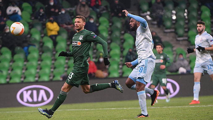 Краснодар дома уступил загребскому Динамо в Лиге Европы