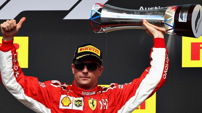 «Феррари» подарила Райкконену болид, на котором он одержал последнюю победу и установил рекорд «Формулы-1»