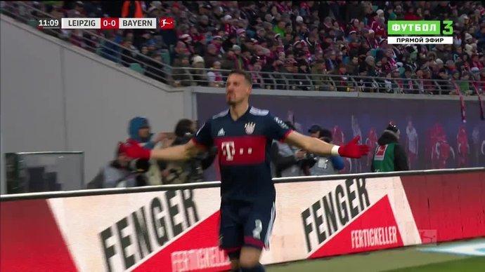 Лейпциг - Бавария. 0:1. Сандро Вагнер (видео)