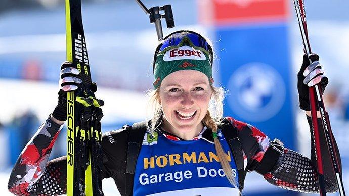 Австрийка Хаузер выиграла масс-старт на чемпионате мира, Миронова — 19-я