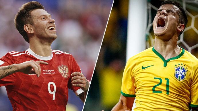 Балалайка против самбы! Хотите увидеть матч Россия — Бразилия? Не упустите шанс!