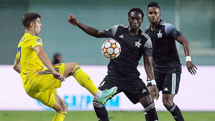 Загребское Динамо пропустило три мяча от Шерифа в матче раунда плей-офф ЛЧ