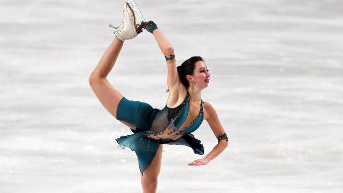 Туктамышева лидирует после короткой программы на Finlandia Trophy