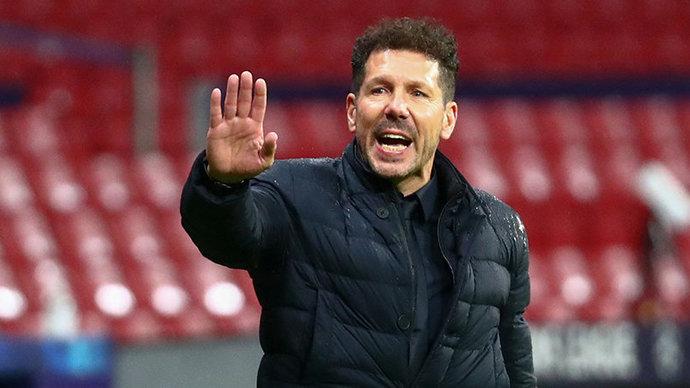 Симеоне не пожал руку Клоппу после поражения в Лиге чемпионов