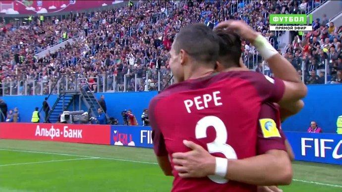 Новая Зеландия - Португалия. 0:3. Андре Силва (видео)