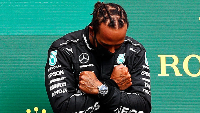 Хэмилтон завоевал 100-й поул в карьере, выиграв квалификацию Гран-при Испании