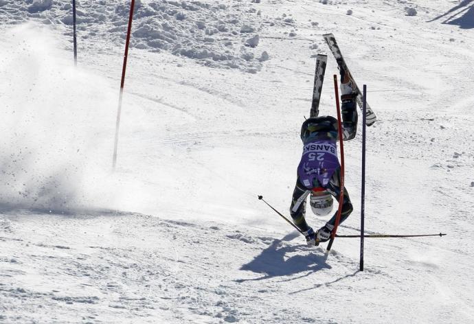 Смешные картинки про бьющихся горнолыжников корковом