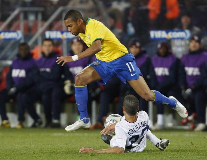 бразилия сша футбол 2017