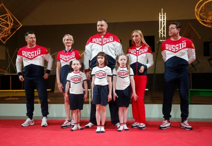 Кросовки олимпийской сборной россии 2016