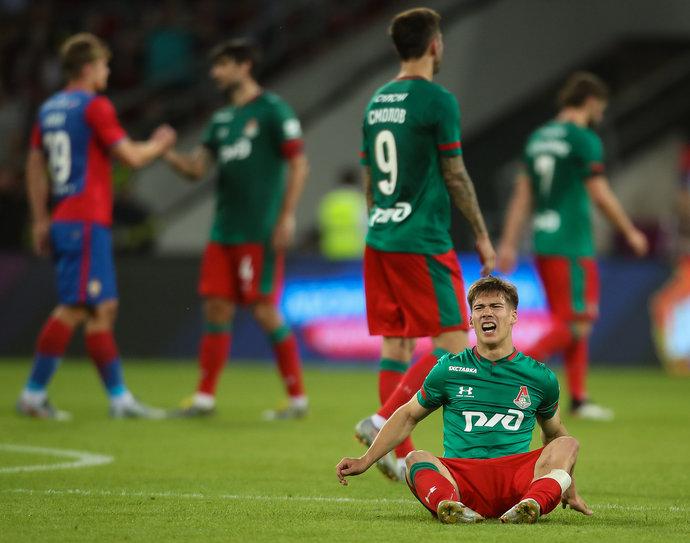 Матч РПЛ между ПФК ЦСКА и ФК «Локомотив»