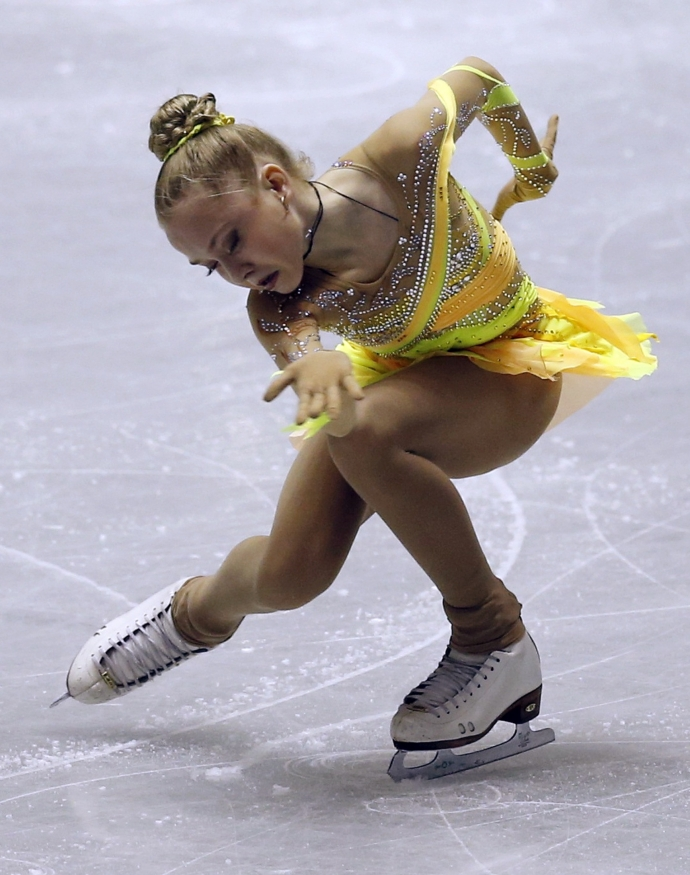 Фигуристки девочки россия