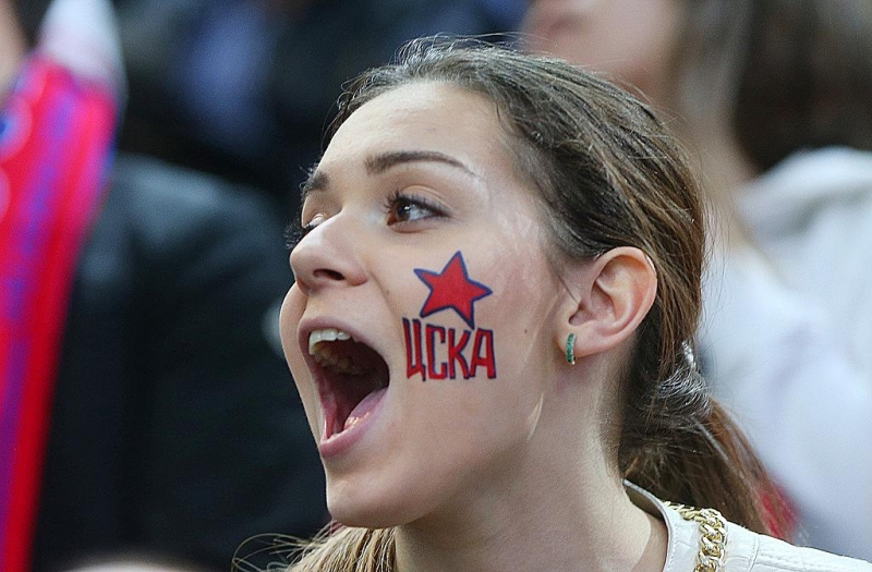 Сотникова за ЦСКА и еще девять кадров пятого матча финала Кубка Гагарина