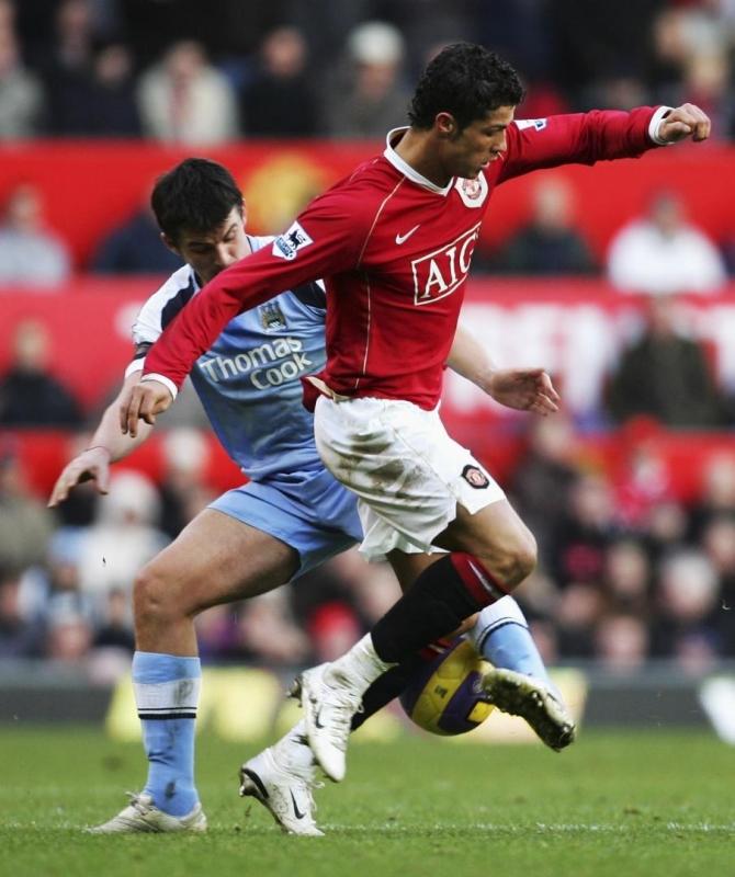 Криштиану Роналду против Манчестер Сити