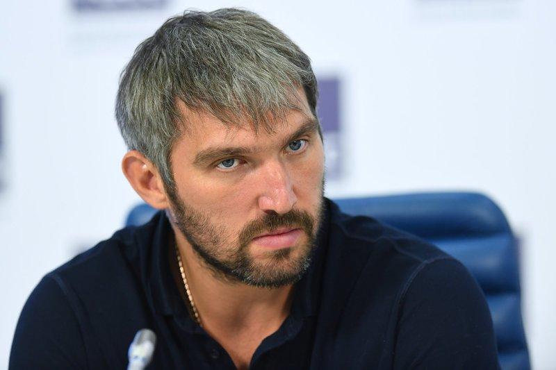 Александр Овечкин: «Трамп — мой болельщик»