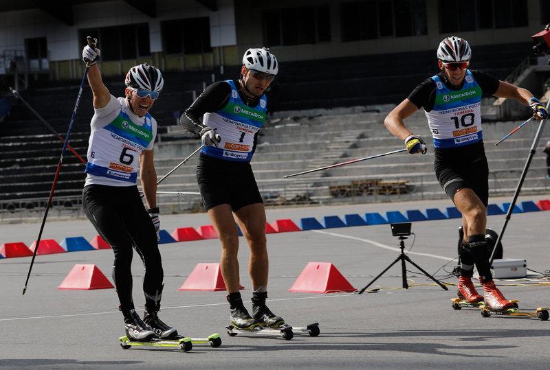 Андрей Парфенов одержал победу среди мужчин