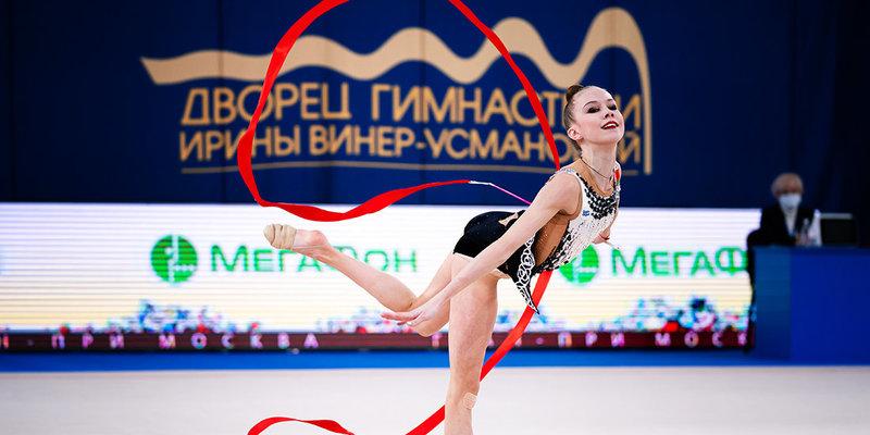 Гибкость, сила и координация. Лучшие моменты Гран-при Москвы по художественной гимнастике