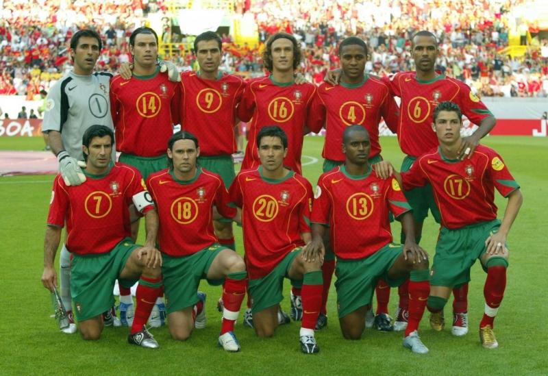 Каким был Роналду, когда впервые играл в финале Евро