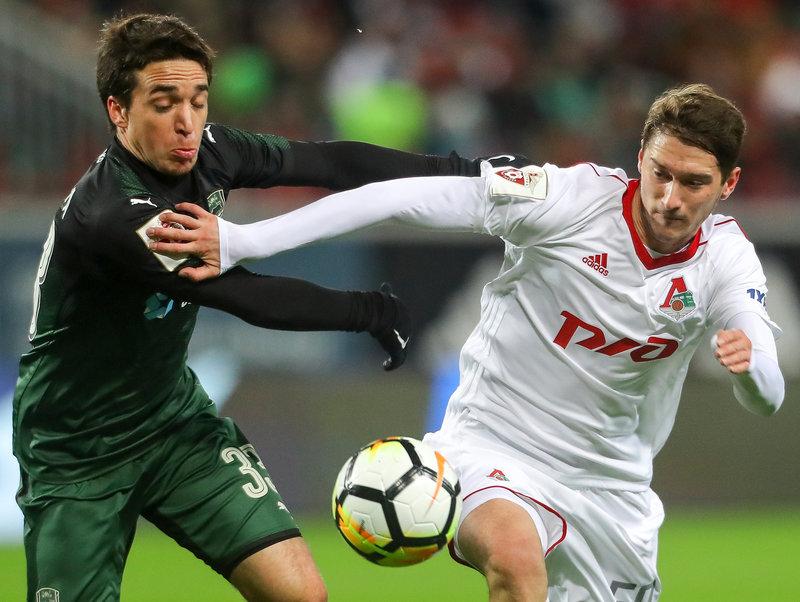 «Локомотив» против «Краснодара» провел лучший матч всезоне— Семин