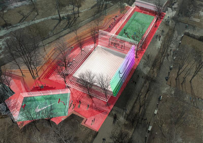8c19eba9 Спортивный центр Nike откроется в Парке Горького для всех желающих