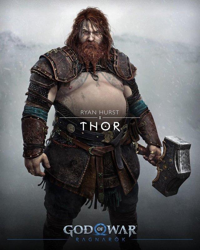 Трехкратный чемпион Великобритании по пауэрлифтингу: «Тор из God of War: Ragnarok — это пик мужской силы»