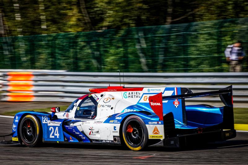 G-Drive Racing не добрались до пьедестала в Спа, Терещенко сошел с дистанции