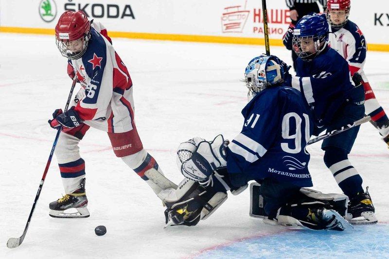 В Уфе завершился восьмой Международный юношеский хоккейный турнир «КУБОК ŠKODA»