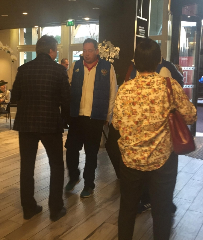 сборная россии прибыла в отель фото устройство