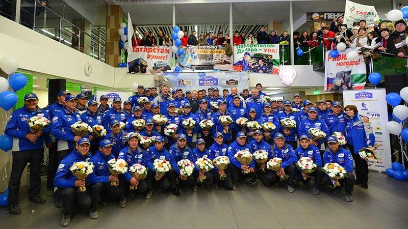 Четыре экипажа команды «КамАЗ-мастер» представят Россию в классе грузовиков на ралли «Дакар»