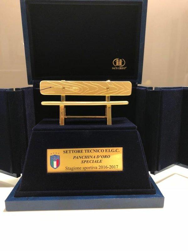 Каррера получил «Золотую скамью» за победу в чемпионате России со «Спартаком»