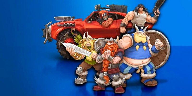 Blizzard выпустила сборник со старыми аркадами. Среди них есть Rock & Roll Racing