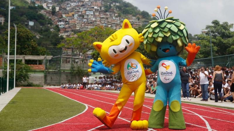 Рио Олимпийское досье Талисманы летней Олимпиады 2016 года Фото © reuters