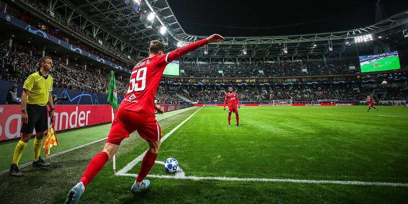 Матч между командами «Локомотив» и «Порту»