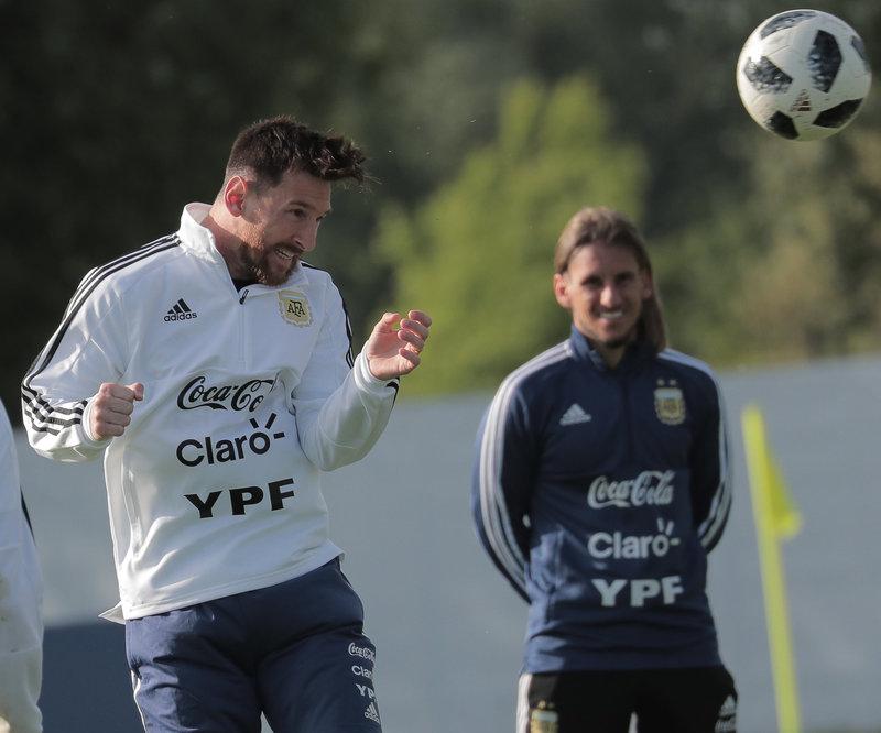 Лионель Месси, Аргентина