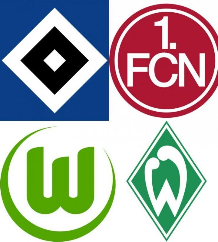 Немецкие футбольные клубы логотипы