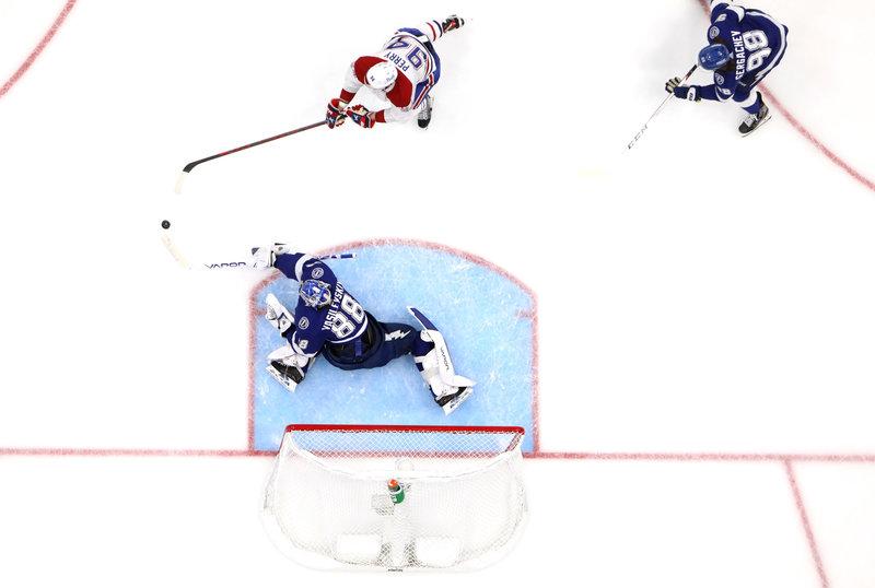 «Монреаль» смял «Тампу» во втором матче финала, но получил 1:3 из-за собственных ошибок и потрясающей игры Василевского